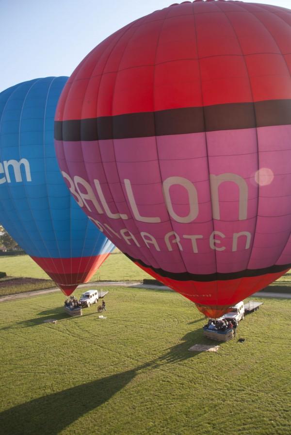 Luchtballonvaart 2011